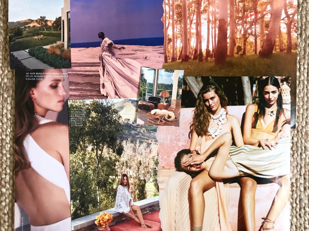Dreamy images on my personal style board